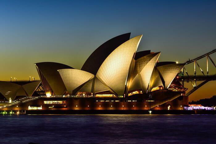 Sydney Opera House Video Shot